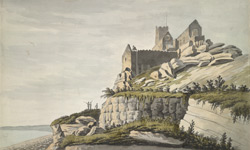 Near View of St Michael's Mount, Cornwall 1786